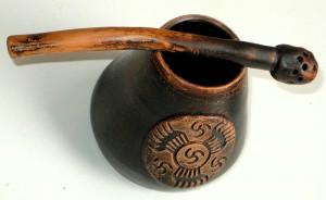 Калебас из керамики