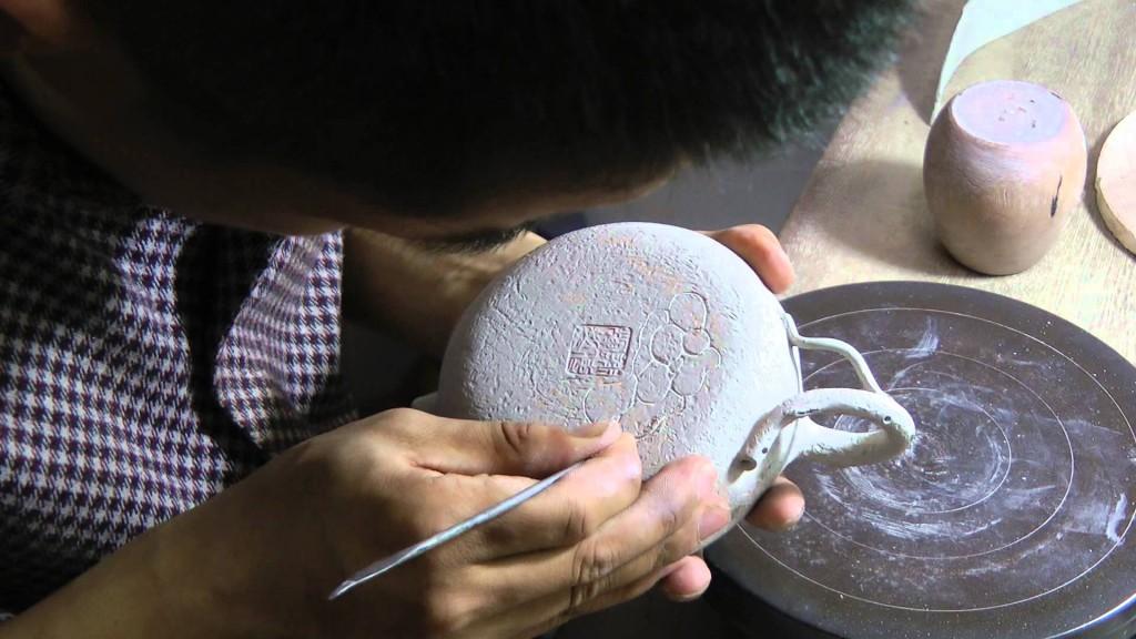 Изготовление исинского чайника
