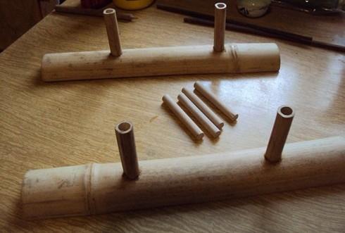 Как сделать чабань из бамбука