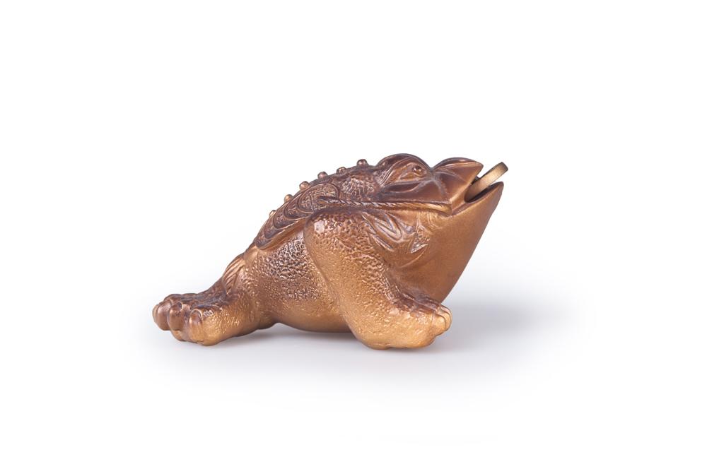 Чайные фигурки - трехпалая жаба