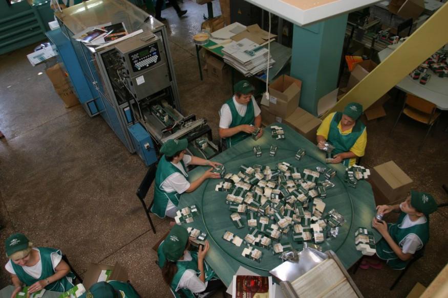Производство фасованного чая в России